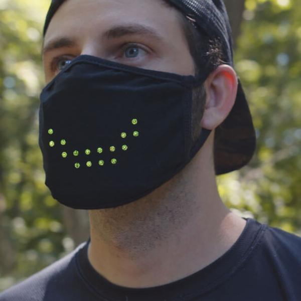 GeniusMask™ Voice Activated LED Mask
