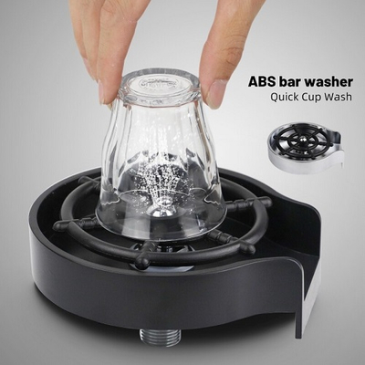 Quick cup washer